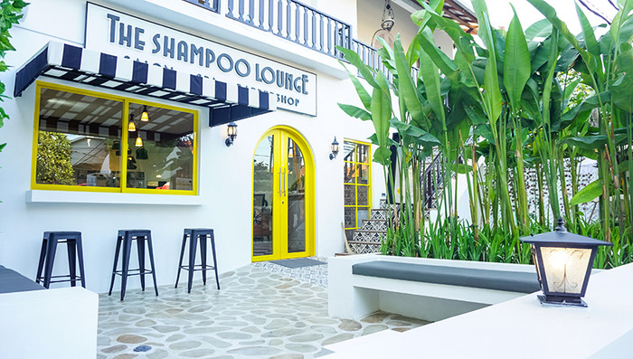 The shampoo lounge bali barber hair shop
