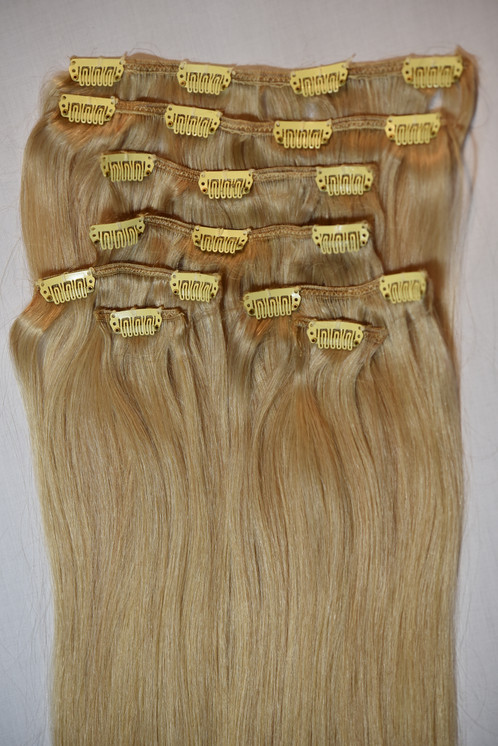 Clips In Remy Hair Extensions 20
