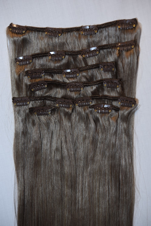 Clips In Remy Hair Extensions 18