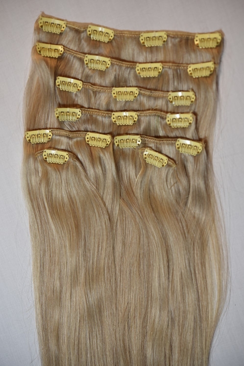 Clips In Remy Hair Extensions 16
