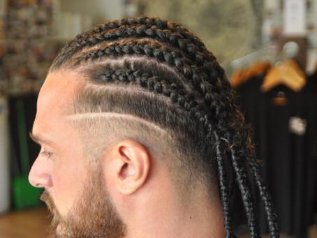 Men's Hair Braiding