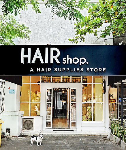 Hair Shop Store Bali exterior jl nakula