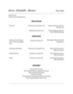 Emma Mercier Playwright Resume-page-001