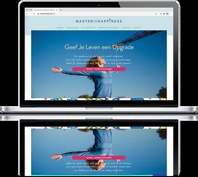 Master in Happiness website door Bespoke Media