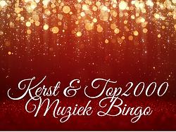 Kerst en Top2000 MuziekBingo