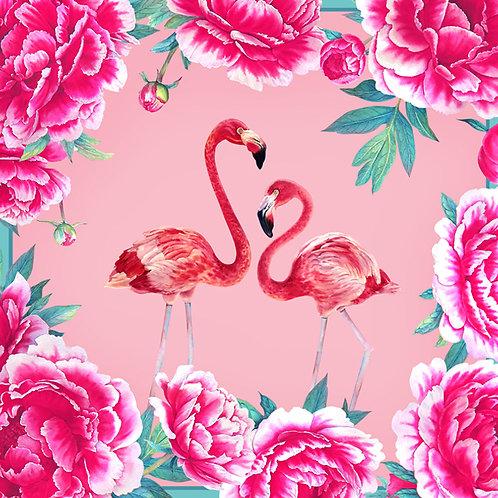 """Платок """"Фламинго мини"""""""