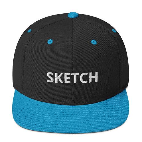 Designer Snapback Hat by SKETCH