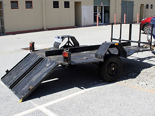 Custom Trailer with Ramps