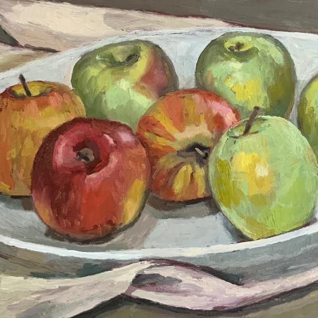 robin howard seven apples