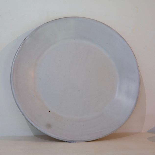 36.Kate McKay, plate, stoneware, satin matt glaze