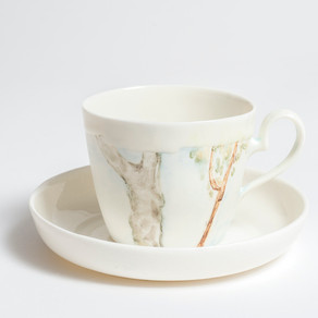 Tree cup and saucer