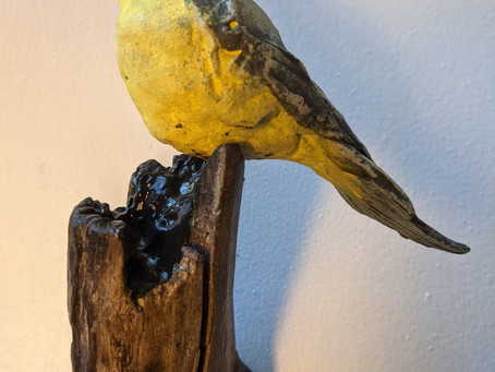 A brush with birds and botanicals is coming to an end