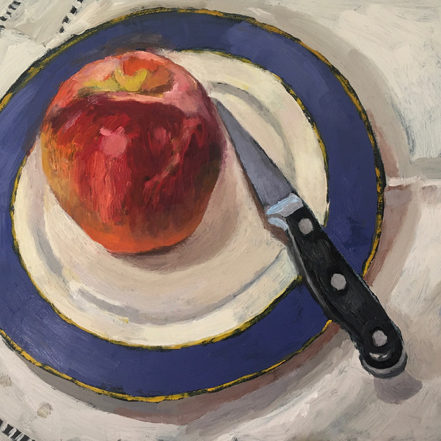 Robin Howard, one apple.jpg