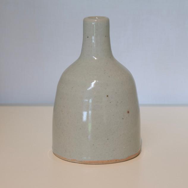 Al Howard, bottle, stoneware celadon glaze