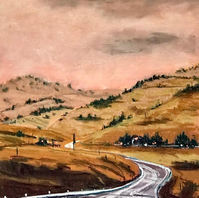 Caroline Reid Hume Highway summer haze