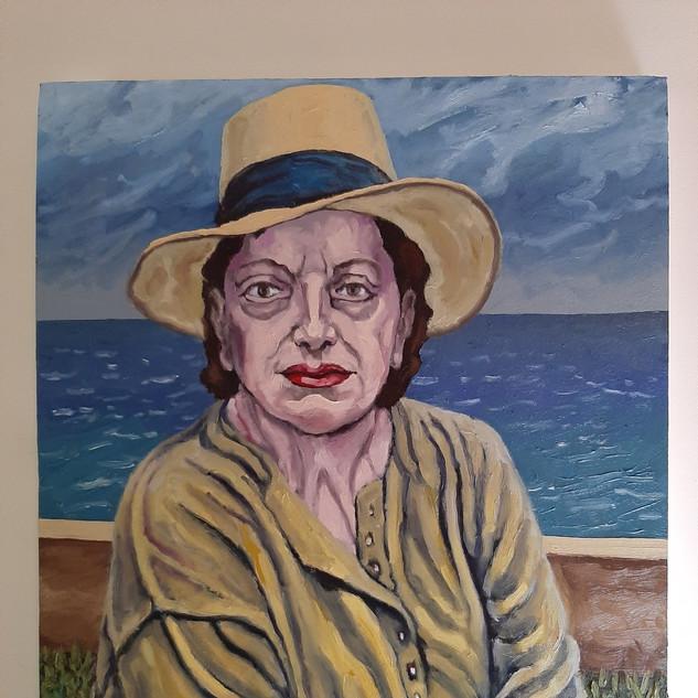 Bernard Hardy Artist's mother