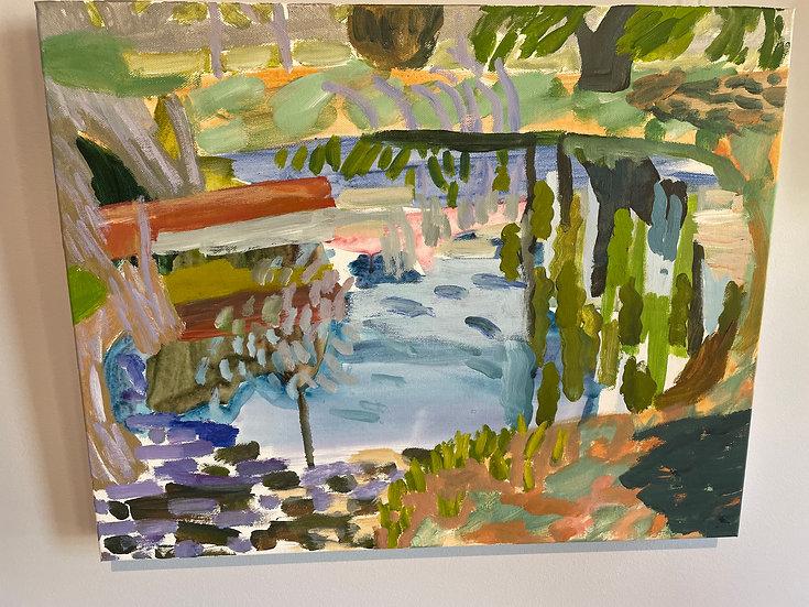 Lynne Flemons, Wollondilly River, Goulburn