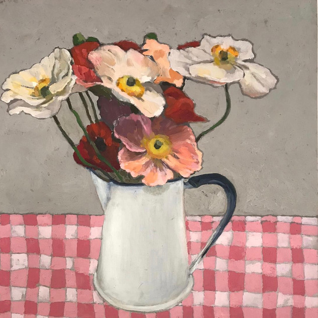 robin howard poppies in jug