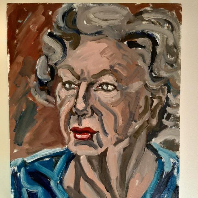 Bernard Hardy Sketch Artist's mother