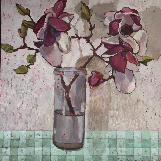 Robin Howard, pink magnolias