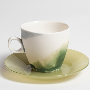MT Ainslie cup and saucer