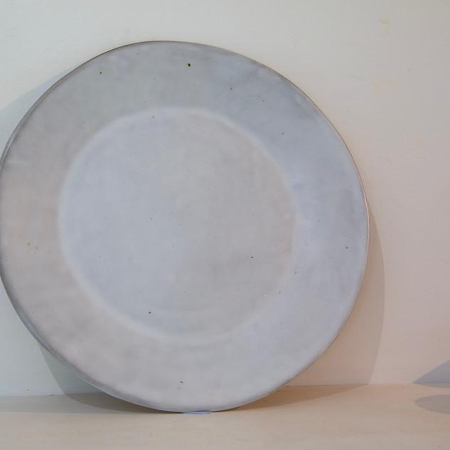 34.Kate McKay, plate, stoneware, satin matt glaze