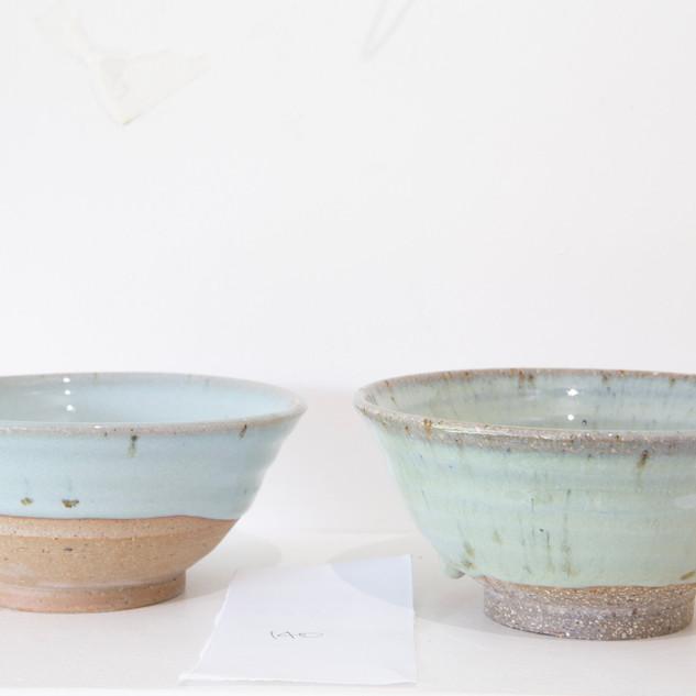 Kate McKay, chun glazed bowls