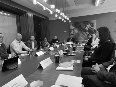 Mayer Brown and Lawyer Talent Network host breakfast with Dallaglio RugbyWorks