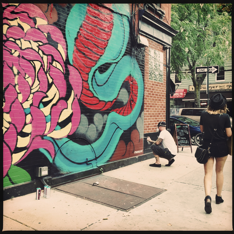 Williamsburg's street art