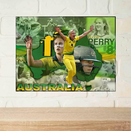 Ellyse Perry A2 Poster