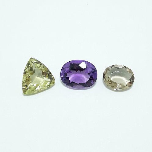 Kit com pedras variadas