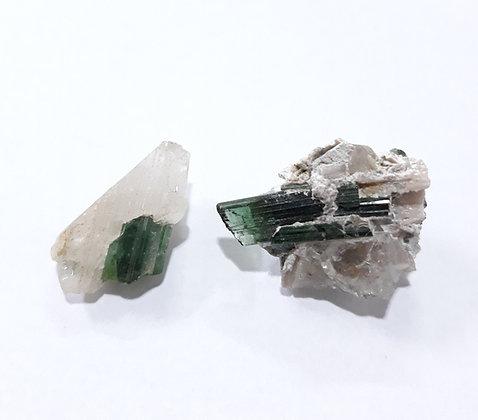 Turmalina com quartzo