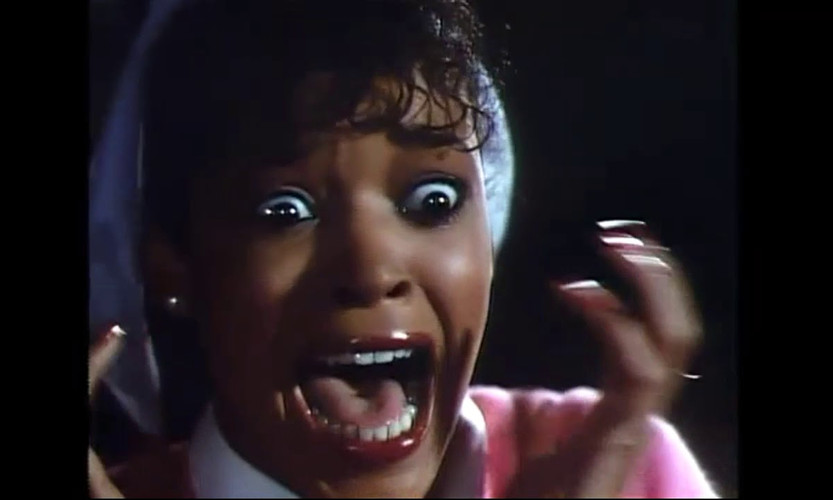 michael jackson develops the flu...or turns into a werewolf