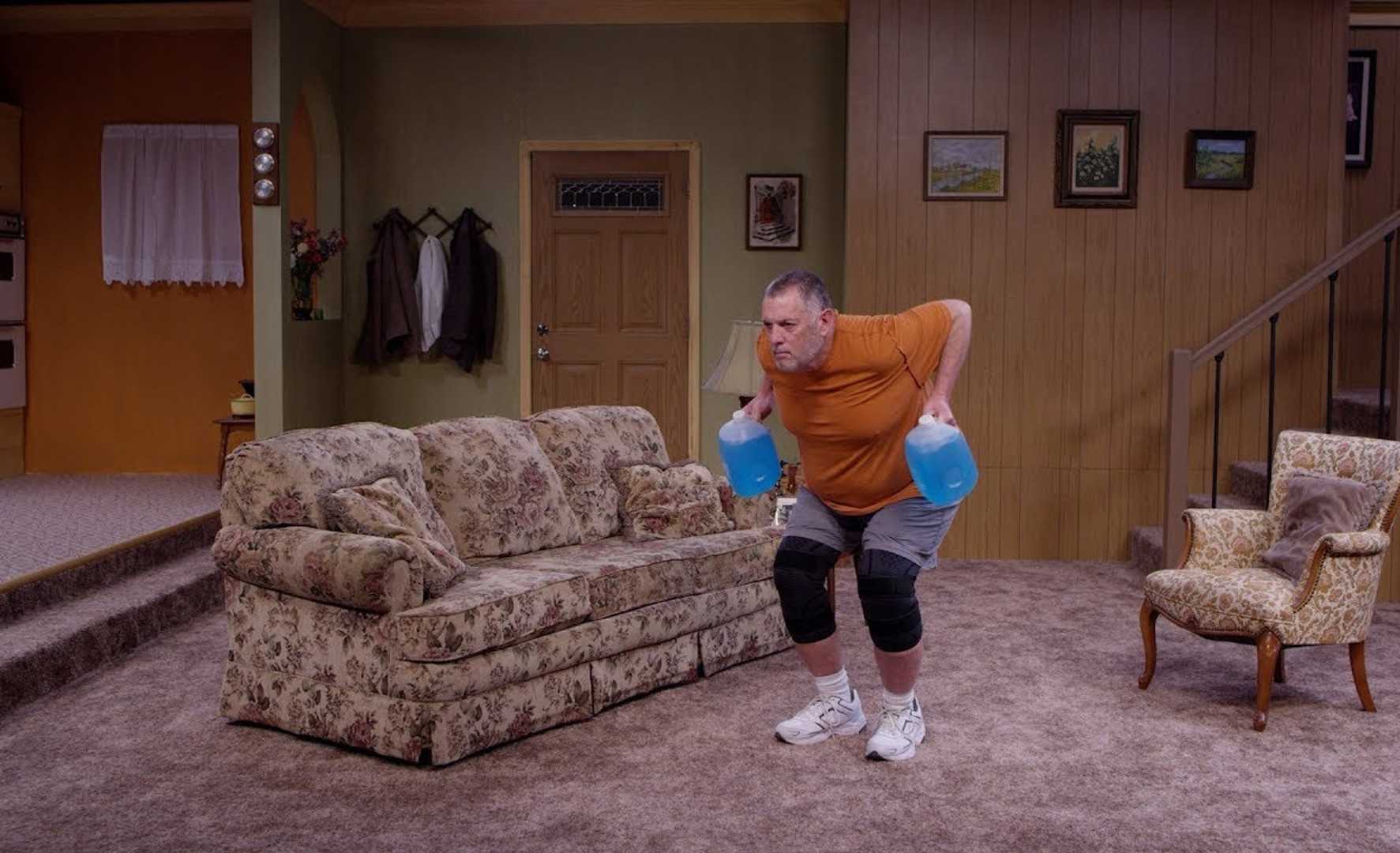 crossfit makes a demo...in al bundy's living room