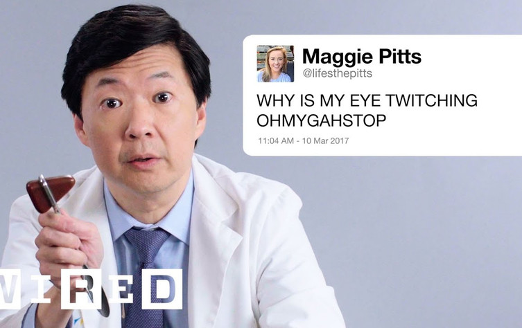 dr. ken jeong answers medical questions from twitter (for reals)