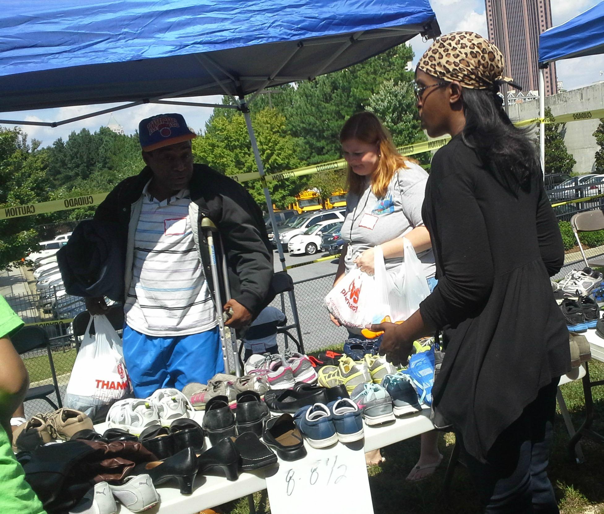 Community Shoe Drive