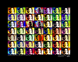 Pop Art Foto als Kunstwerk