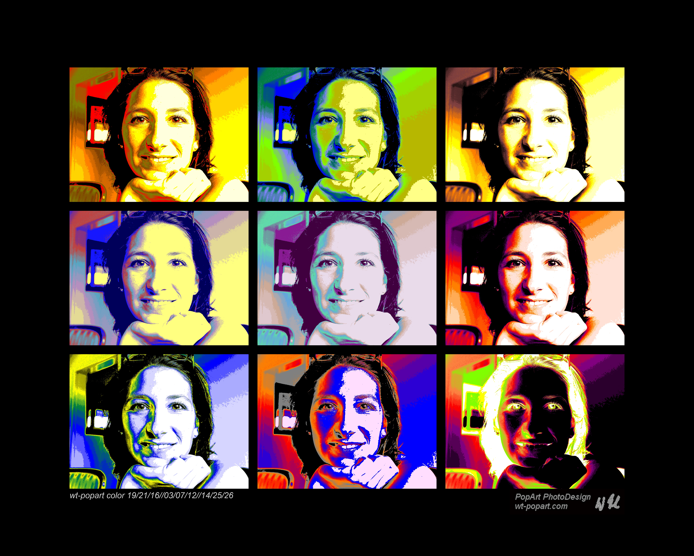 Portrait 3x3 Bilder