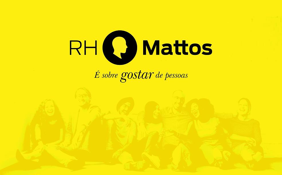 É sobre gostar de pessoas - RH Mattos