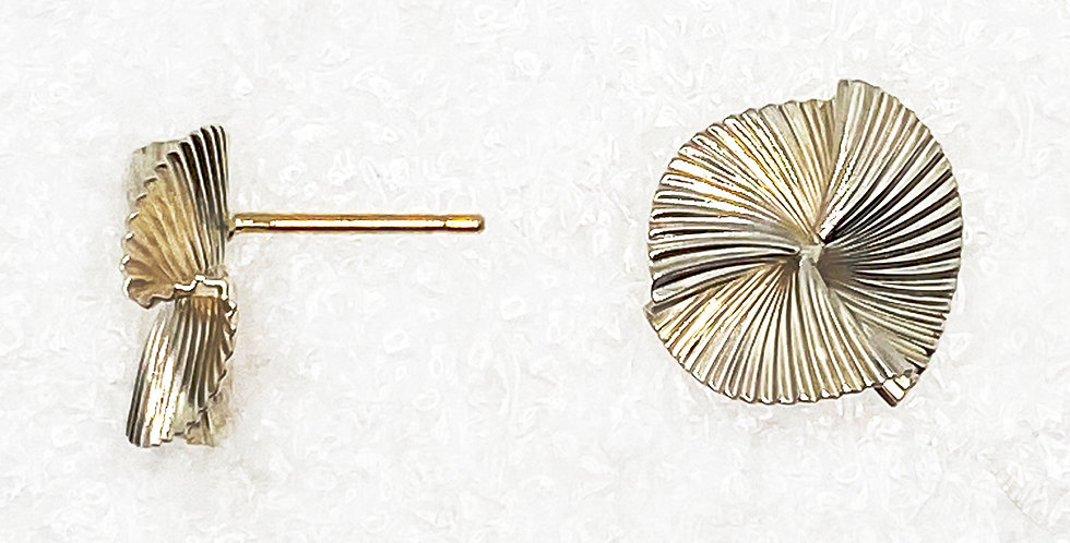 Robert Fisher Silver Pinwheel Earrings
