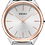 Thumbnail: Seiko Analog Quartz Silver and Rose-gold Women's Watch SWR034