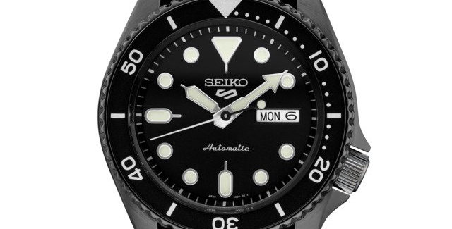 Seiko Analog Green/Black Watch SRD91
