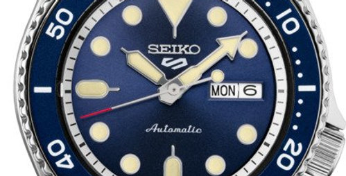 Seiko Analog Navy Stainless Watch SRPD71