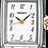 Thumbnail: Seiko Analog Quartz Silver and Gold Stainless Women's Watch SXGL61