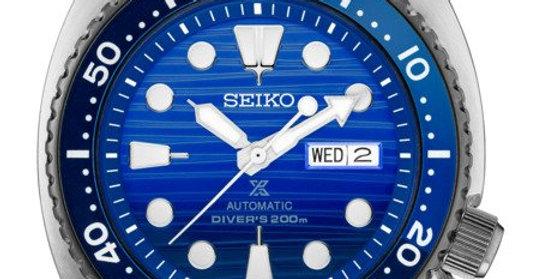 Seiko Analog Blue/Black Unisex Watch SRPC91