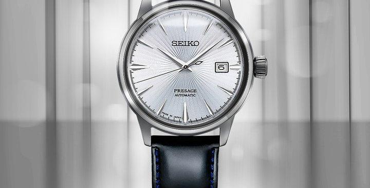 Seiko Automatic Presage Men's Analog Watch SRPB43