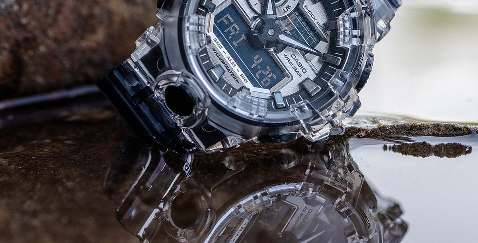 Casio G-Shock Analog-digital Skeleton Men's Watch GA700SK-1