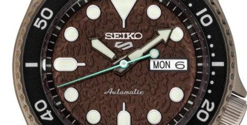 Seiko Analog Brown/Black Watch SRPD85