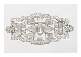 Diamond Brooch Vintage B Ferdinand Jewel