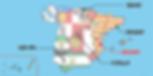 バレンシアの位置-地図
